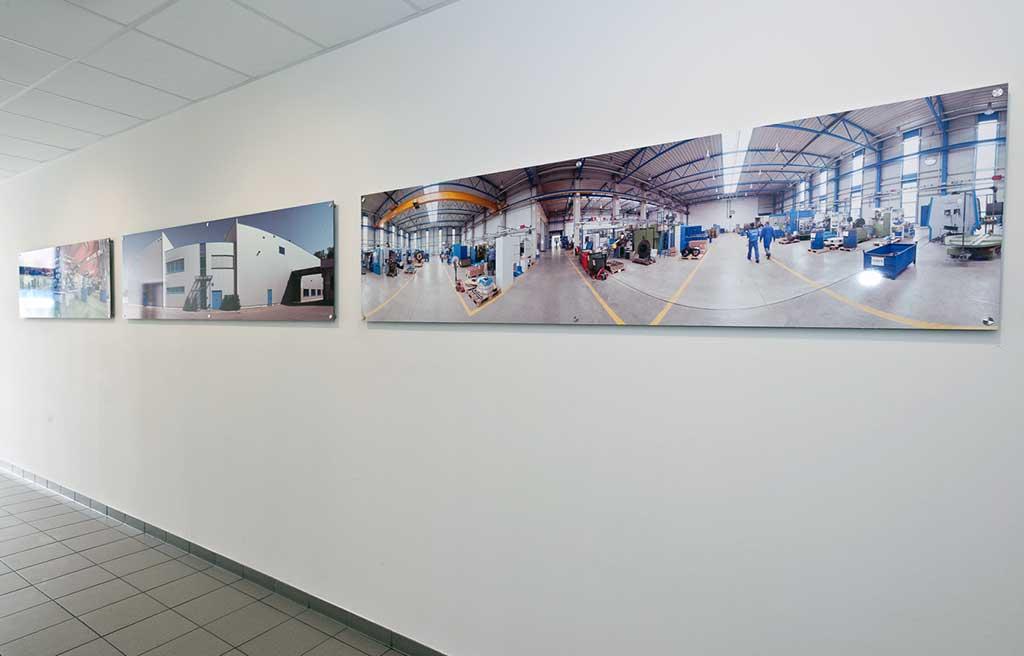 Digitaldruck auf Aludibond - Fa. Dietz, Neustadt b. Coburg